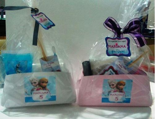 kit manicure frozen lembrancinha kit com 10