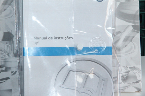 kit manual proprietário vw up original lacrado