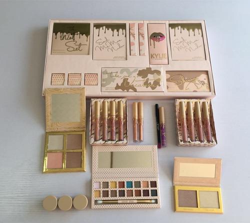 kit maquiagem kylie jenner paleta take me on vacation make