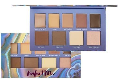 kit maquiagem paleta perfect me hb 7509 ruby rose