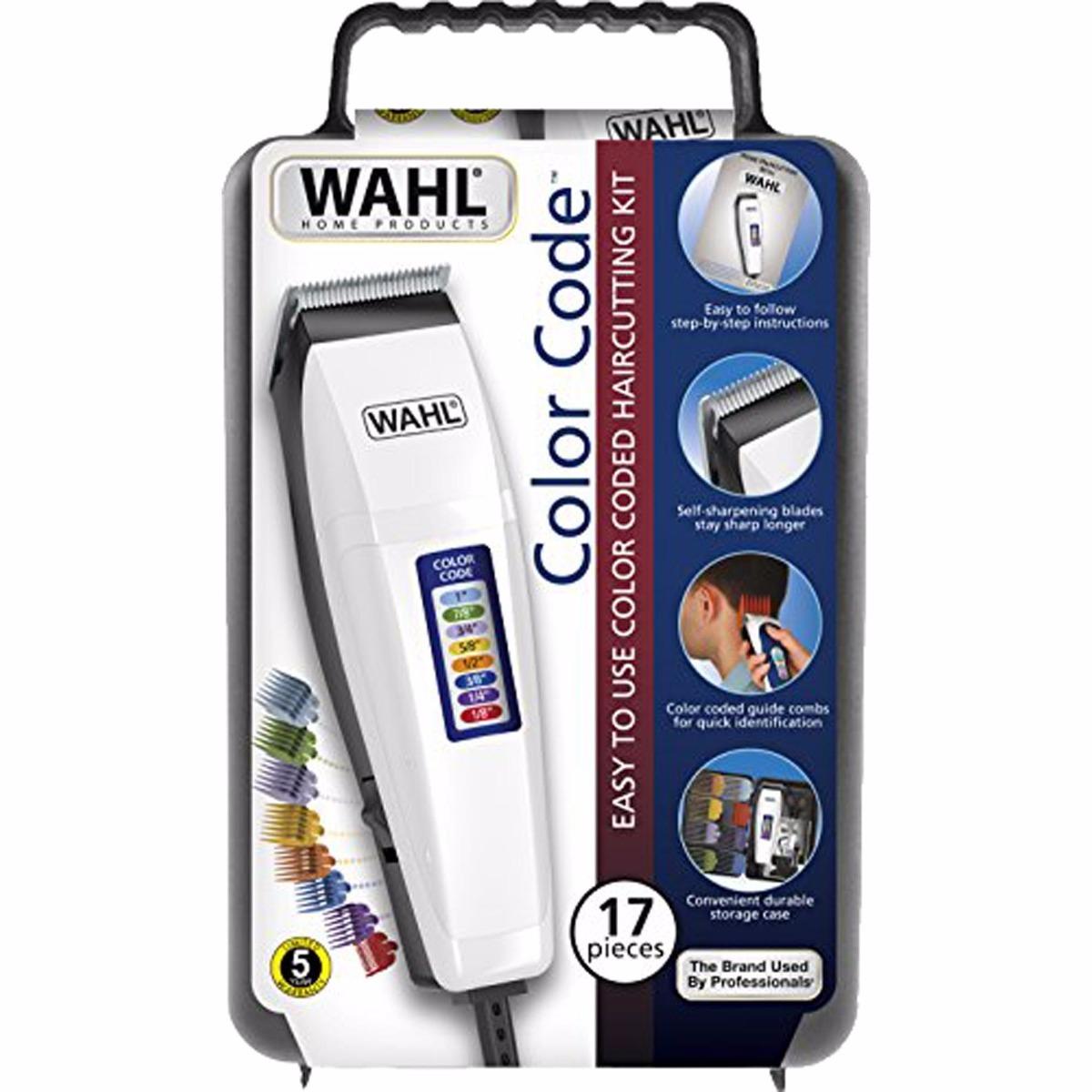 271fe6289 kit máquina corte cabelo e barba profissional wahl 17pç 110v. Carregando  zoom.