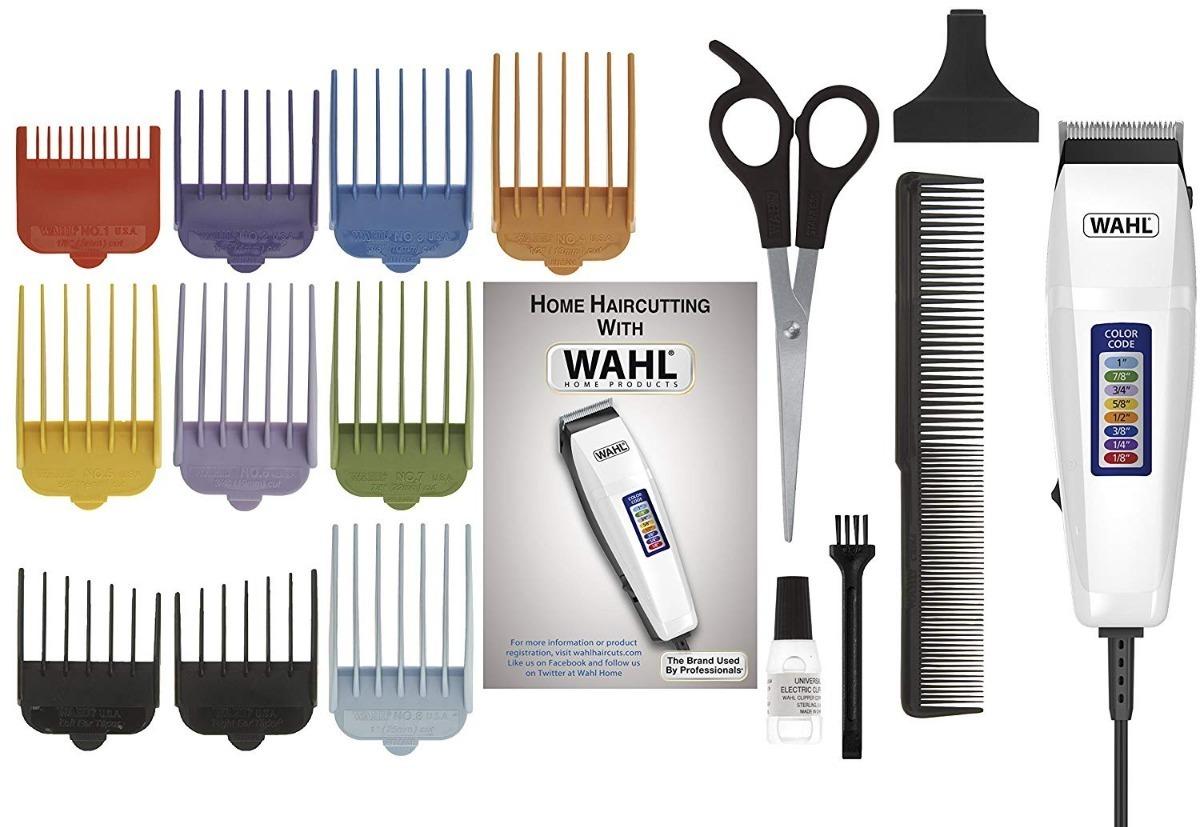 1e8fdd810 kit maquina corte cabelo e barba profissional wahl 17pç 110v. Carregando  zoom.