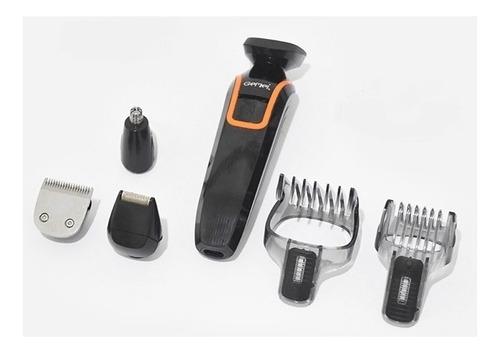 kit maquina de afeitar barba y nariz 6 en 1 original
