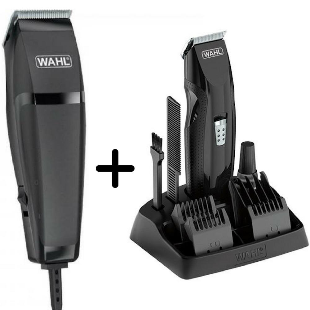 31ed3e6cc kit máquina de corte e acabamento wahl barba cabelo bigode. Carregando zoom.
