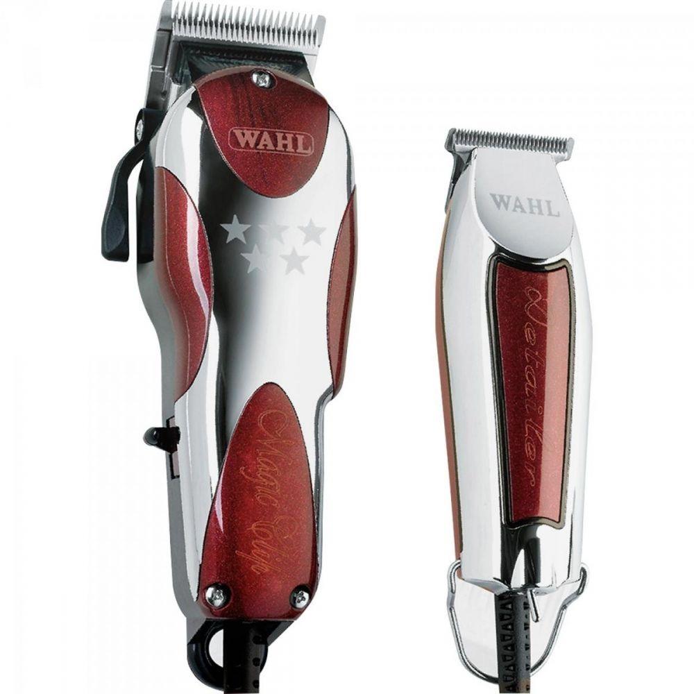 60e4a4f41 Kit Máquina De Corte Magic Clip + Detailer 220v Wahl - R$ 903,95 em ...