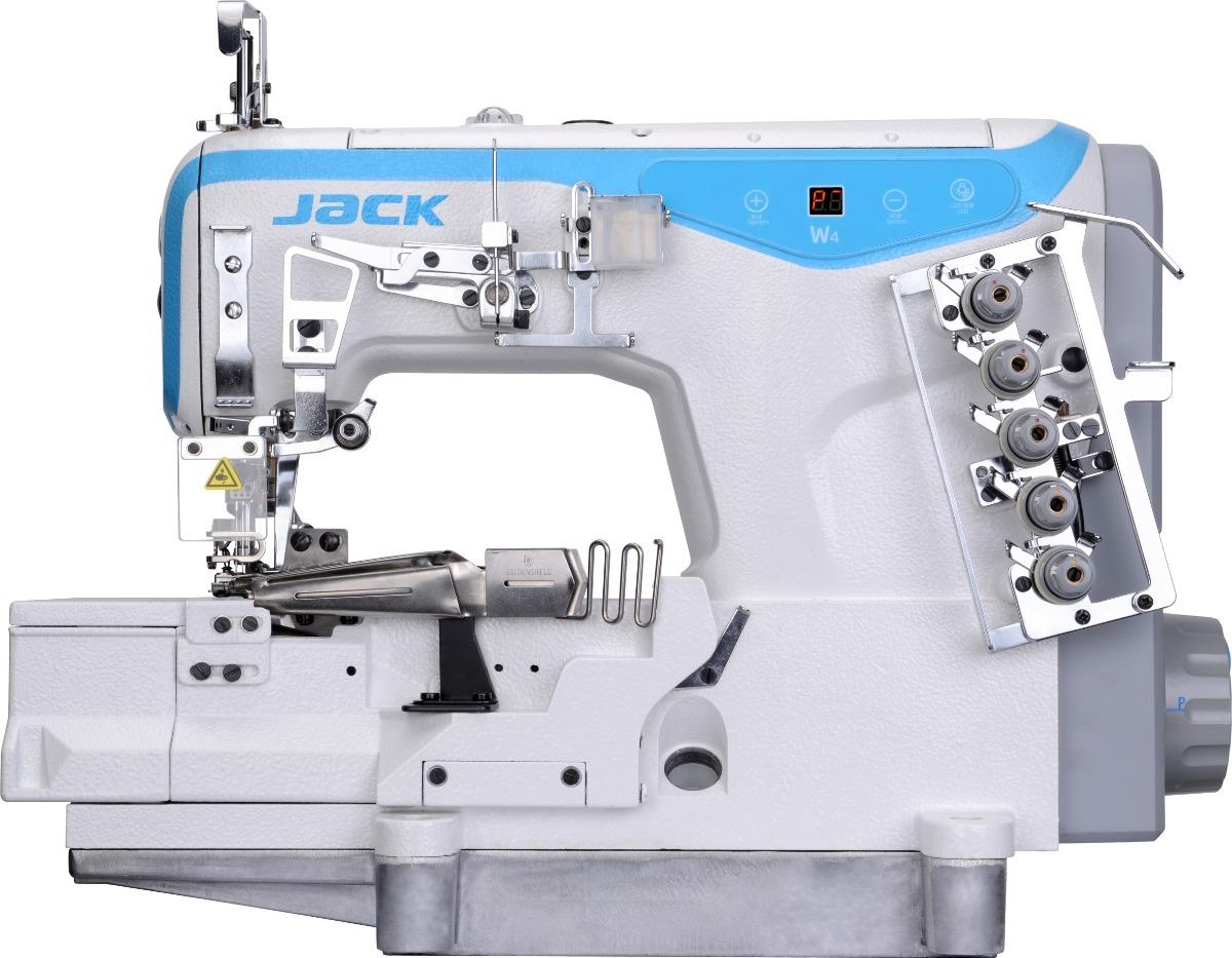 Kit Maquina De Coser Overlock E4 + Collarete W4 Marca Jack