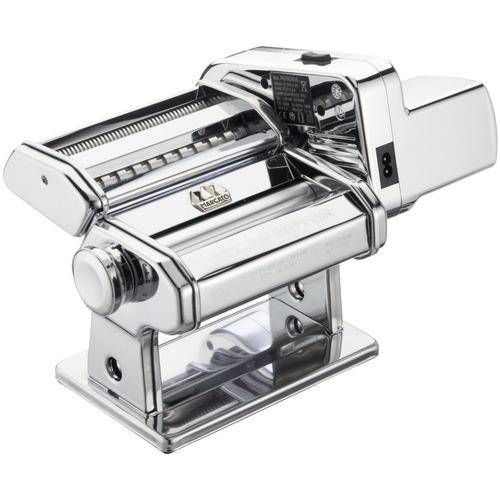 kit máquina de macarrão atlas 150 italiana marcato + motor