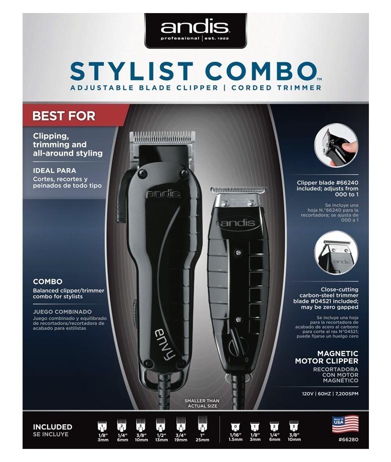 aaa99bdd8 kit maquinas de corte andis stylist combo profissional. Carregando zoom.