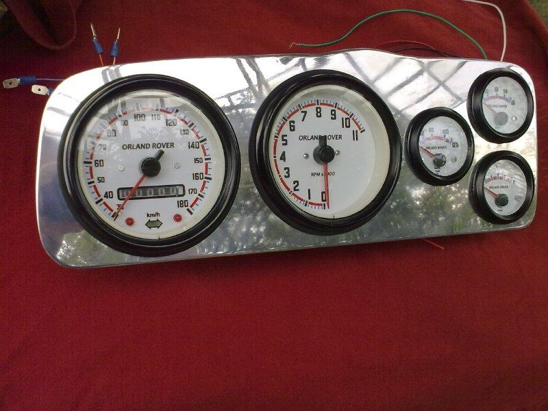 Kit Marcadores Velocimetro Tacometro Vocho Porsche Buggy - $ 750.00 ...