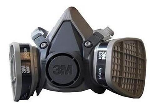 kit mascara lista para el uso con filtros 3m fumigar pintura
