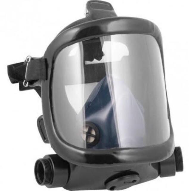Kit Máscara Panorâmica Facial Total + 2 Filtros Proteção - R  349,00 em  Mercado Livre c9f4dcf364