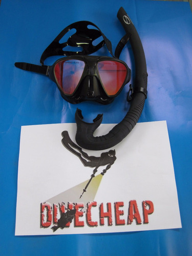kit mascara pesca sub expert espelhada seasub   brindes show
