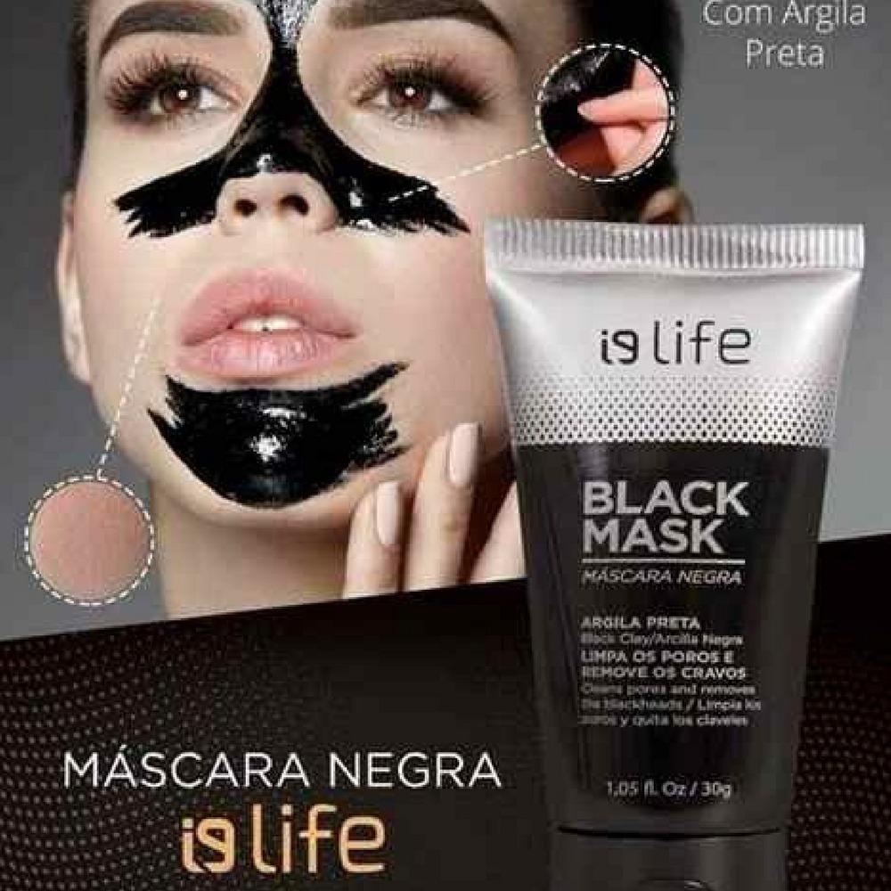 8c6c28b2ba2dc3 Kit Máscara Preta Facial Black Head Remove Acne Cravos Rosto