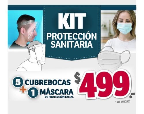 kit máscara y barbijo homologados