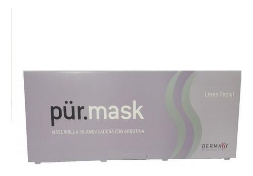 kit mascaras peeling acidos + activos pur mask dermassy