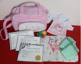 4add53ed3220 Kit Acessorios Para Bebe Reborn Menino - Bonecas e Acessórios no ...