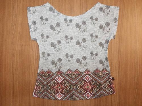 kit mãe e filha t-shirt camiseta blusa feminina mickey mouse