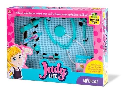 kit médico de brinquedo judy home medica completo