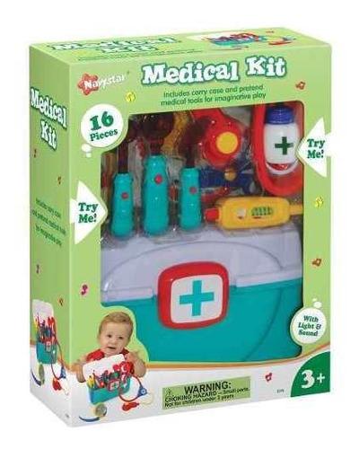 kit medico navystar 1278 con 16 piezas lionels