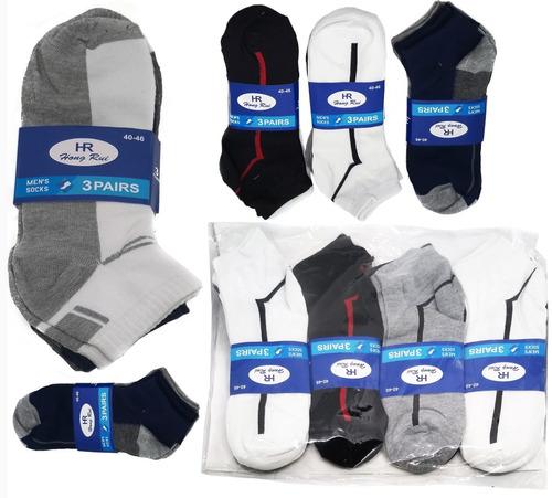 kit meia masculina 12 pares soquete preço atacado