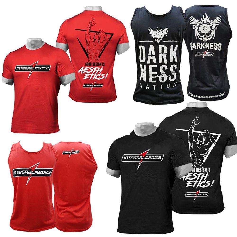 d2c9cc4a28 kit melhores camisetas integralmedica darkness regata. Carregando zoom.