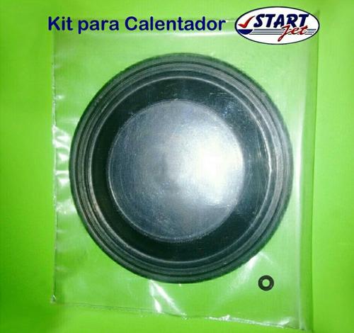kit membrana diafragma y oring para calentador start jet