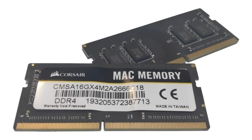 Memoria DDR4, 2666 MHz, 16 GB, 1 x 16 GB, DDR4, 2666 MHz, 260-pin SO-DIMM 2666 MHz m/ódulo de DDR4 Corsair Vengeance 16 GB