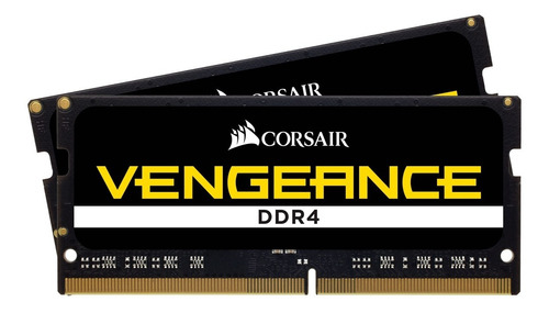 kit memoria notebook ddr4 32gb 2666 (2x16) vengeance corsair