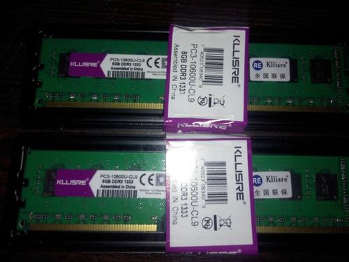 kit memória ram ddr3 16gb (2x8gb) 1333mhz para amd lacrado