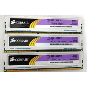Kit Memórias Corsair 6gb (3x2gb) Xms3 Ddr3 1600mhz Off