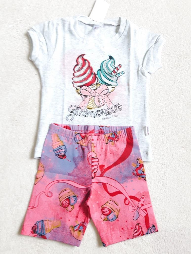 00c97125f1 kit menina 3 anos 10 pecas (5 conjuntos) roupa infantil atac. Carregando  zoom.
