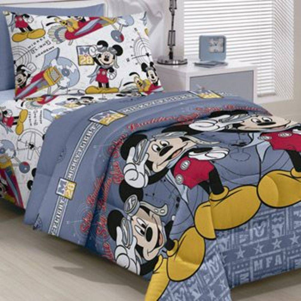 cffa3f00f7 kit menino edredom + jogo de cama infantil mickey mouse kids. Carregando  zoom.