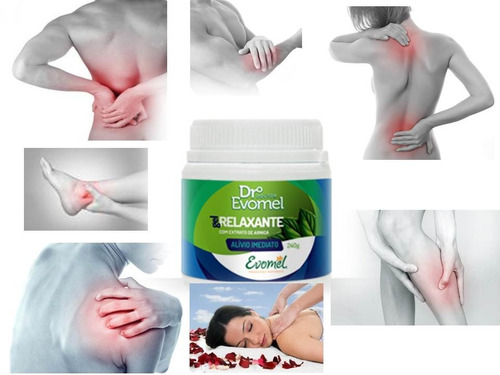 kit mentalife - gel relaxante muscular - md15  - evomel