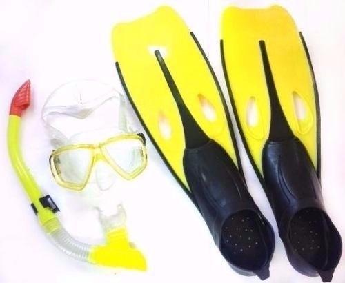 kit mergulho completo