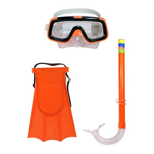 kit mergulho mascara snorkel