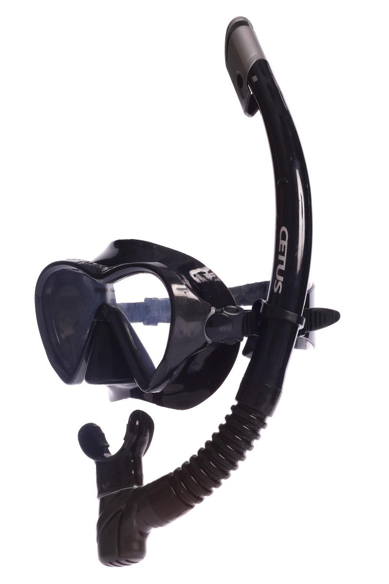 29cce5001b8 kit mergulho máscara+snorkel cetus riviera. Carregando zoom.
