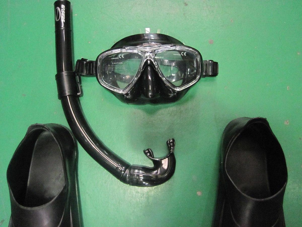 c0885f706 Kit Mergulho Pesca Sub Arpão Pe De Pato Mascara Respirador - R$ 449 ...