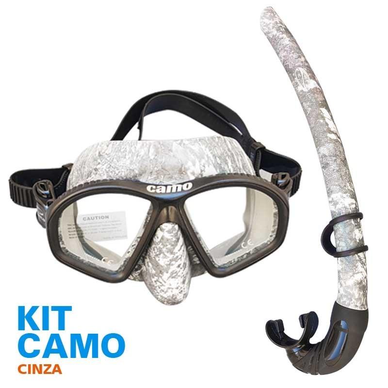 kit mergulho pesca sub camuflado seasub - novidade. Carregando zoom. 125a3ee2bb3