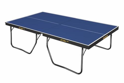e1da41459 Kit + Mesa De Ping Pong Oficial Profissional 25mm 1090 Klopf - R ...