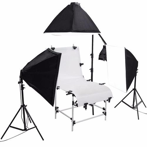 kit mesa fotografía producto estudio fotográfico