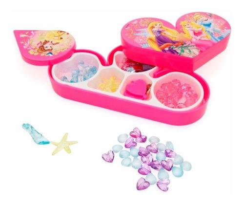 kit miçangas princesas disney com estojo - toyng 24716