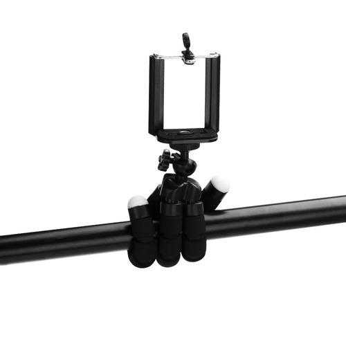 kit microfone dagge + cabo extensao + tripe + adaptado p3/p2