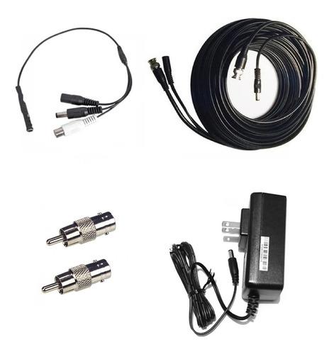 kit micrófono cctv cancelación de ruido cable 20m eliminador