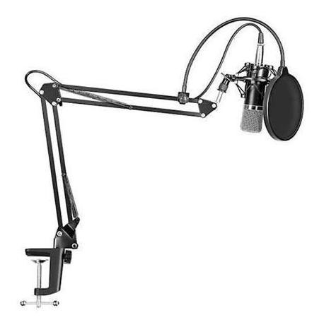 kit microfono condenser home studio streaming gaming