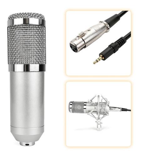kit micrófono estudio condensador fiddler studio pro