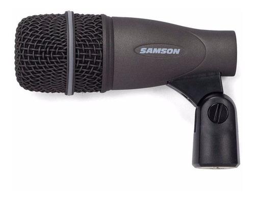 kit microfono samson dk-703 p/bateria + soportes + valija