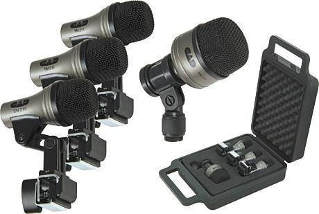 kit microfonos bateria cad pro 4 - nuevos