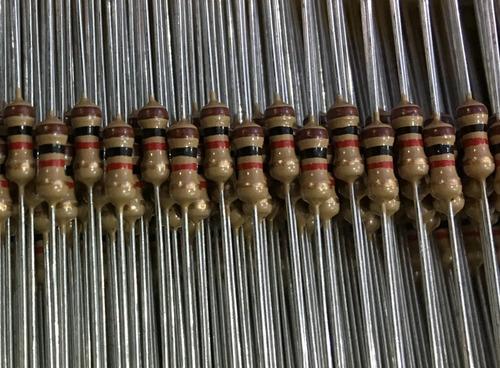 kit mil peças de resistor 1/4w cr25 - escolha até 10 modelos