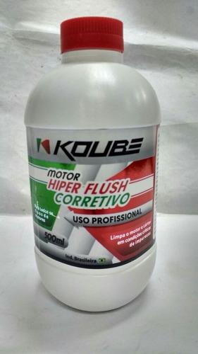 kit militec + aditivo limpeza motor koube hiperflush