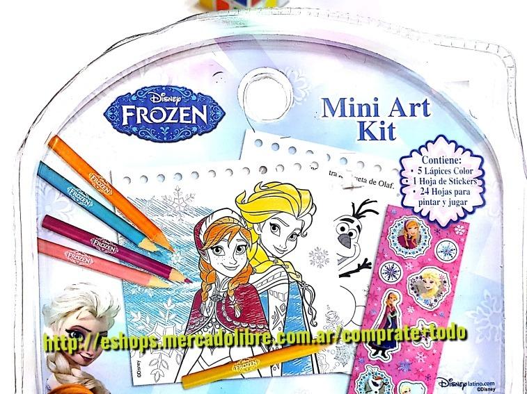 Kit Mini Art Disney Frozen Y Princesa. - $ 180,00 en Mercado Libre